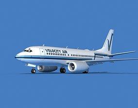 Boeing 737 MAX 7 Velocity Air 3D