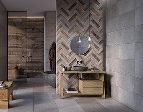 3D Bathroom No W scene from FLAVIKER CATALOG