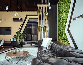 settings 3D Interior Office