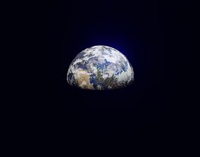 3D asset Earth Planet Blender Scene