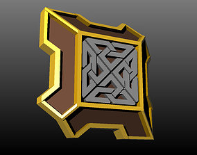 Dwarven Shield 3D printable model