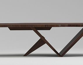 Nakashima George CARPENTER coffee table 3D