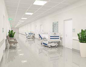 room 3D Hospital Hallway