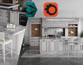 Catalog Sample - Kitchen Furniture 3D model