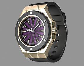 Modern wrist watch My own design 3D model