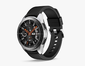 Samsung Galaxy Watch 42mm Midnight Black 2018 3D model