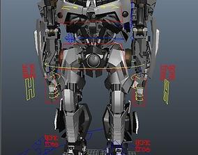 3D Transformers the big wasp