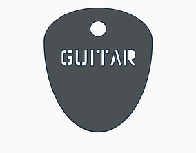 PICK GUITAR 3D asset