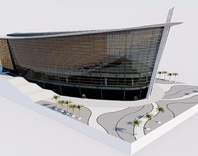 Dubai Opera - UAE 3D model