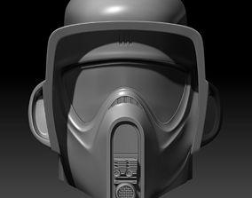 Star Wars Biker Scout Helmet 3D printable