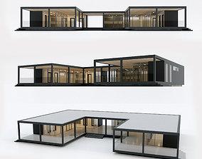 Villa house 13 3D asset