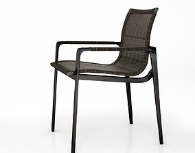 3D model Holly Hunt Keel dining chair