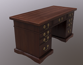 Table Low Poly 3D asset