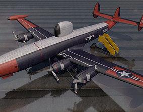 Lockheed EC-121 Warning Star 3D model