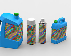 Canisters and cans 3D