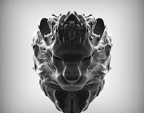 3D printable model safari Lion Ring
