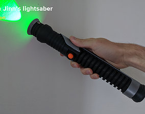 Qui-Gon Jinns lightsaber - Star Wars 3D printable model
