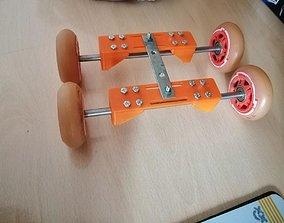 3D printable model camera slider