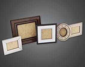 3D asset GEN - Household Picture Frames - PBR Game Ready