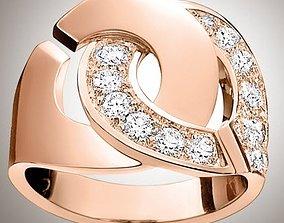 3D printable model rings -CG249