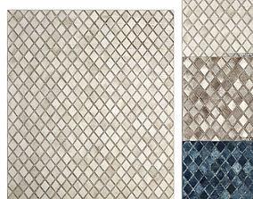 Paragon Hide Rug RH carpet 3D