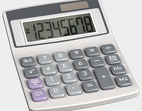 Solar Calculator 3D model