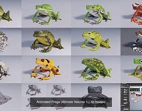 3D Animated Frogs Ultimate Volume 1