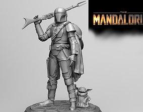 THE MANDALORIAN-YODA BABY 3D PRINT MODEL