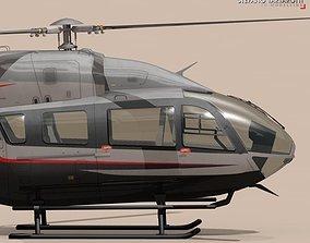 EC145 air executive 3D model