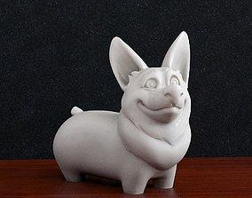 Corgi dog 3D printable model