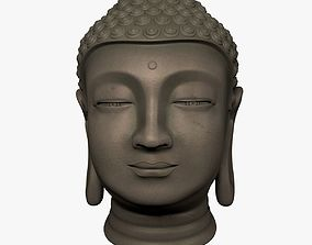 3D model Buddha Head - Bust