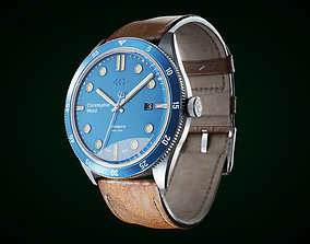 3D model Christopher Ward C65 Watch