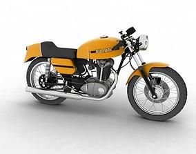Ducati 250 Desmo 1971 3D model