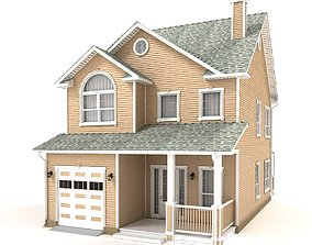 Cottage 32 porch 3D