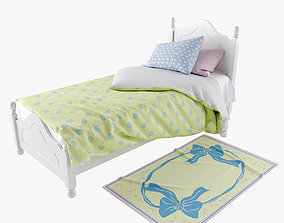 Kids Provence Bed 3D