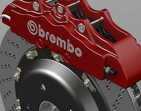 3D brake disk brembo