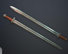 Scandinavian sword vol 2 3D asset