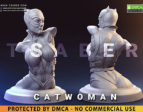3D print model Catwoman Bust - DC Collectibles