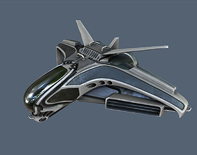 3D model Intergalactic Spaceship