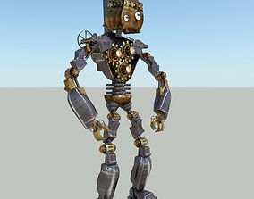 Steam Punk Robot 2 3D model