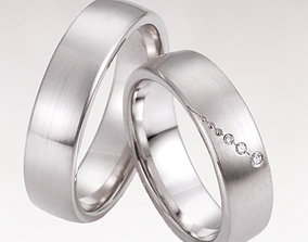 Wedding ring 223 3D print model