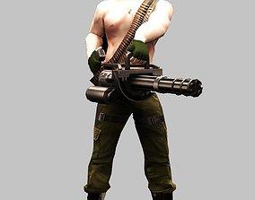 3D model SWAT Gunner
