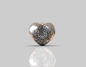 Hearts LOVE pendants 3D printable model