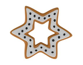 Christmas Biscuit 06 3D