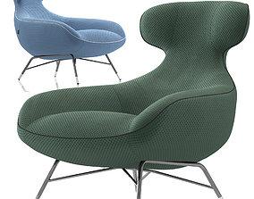 3D asset Roche Bobois Spoutnik Lounge Armchair