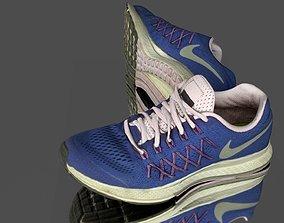 3D model low-poly Sport shoes