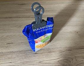 snack-clip V12 3D print model