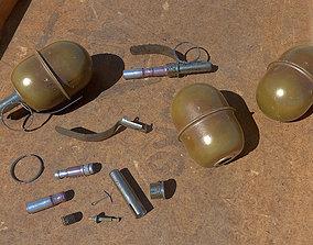 3D asset RGD5 Hand Grenade