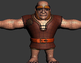 realtime character Giants 3d model