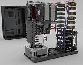 Computer Cabinet 3D asset